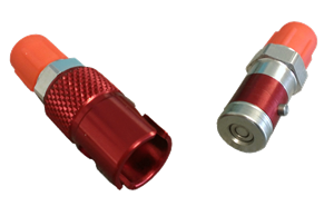 Triple X Race Components - Triple X Quick Disconnect Brake Fitting Aluminum Red