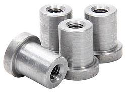 "Allstar Performance - Allstar Performance Weld-On Nuts - 3/8""-16 - (Pack of 4)"