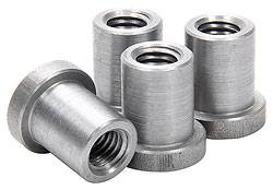 "Allstar Performance - Allstar Performance Weld-On Nuts - 1/2""-13 - (Pack of 4)"