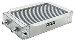 "Allstar Performance - Allstar Performance Deck Mount Oil Cooler - 8-3/4"" x 15"" x 2-1/4"" Tall"