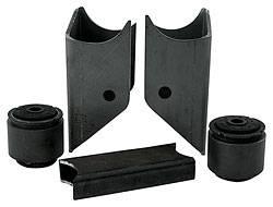 Allstar Performance - Allstar Performance Rear End Bracket Kit - Single Hole - Standard
