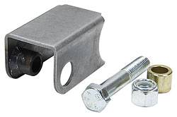 Allstar Performance - Allstar Performance Coil-Over Bracket w/ Grade 5 Bolt - Lock Nut & Spacer - Long, Straight - Notched Style