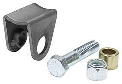 Allstar Performance - Allstar Performance Coil-Over Bracket w/ Grade 5 Bolt, Lock Nut & Spacer - Narrow Radius Mount Style