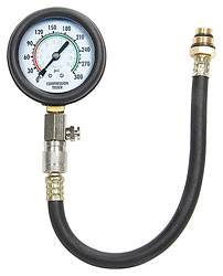 "Allstar Performance - Allstar Performance Compression Tester - 0 to 300 PSI - 2-1/2"" Dial - 12"" Flexible Hose"
