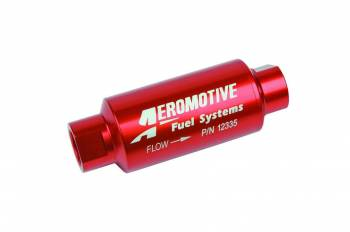 Aeromotive - Aeromotive Fuel Filter - 40 Micron - Stainless Steel Element w/ 10 AN