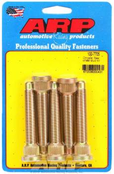 ARP - ARP Wheel Stud Kit - 1/2-20 3.125/.680 Knurl (5)