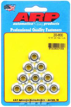 ARP - ARP Hex Nuts - 5/16-24 (10)