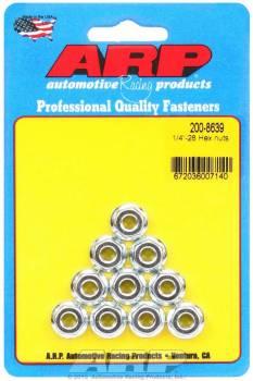 ARP - ARP Hex Nuts - 1/4-28 (10)