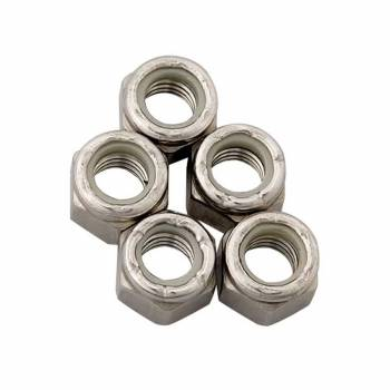 ARP - ARP Stainless Steel 6 Point Fine Nyloc Nuts - 3/8-24 (5)
