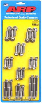 ARP - ARP SB Chevy Stainless Steel Intake Bolt Kit - 6 Point