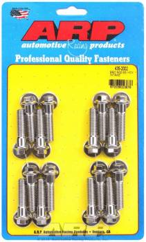 ARP - ARP BB Chevy Stainless Steel Intake Bolt Kit - 6 Point 502