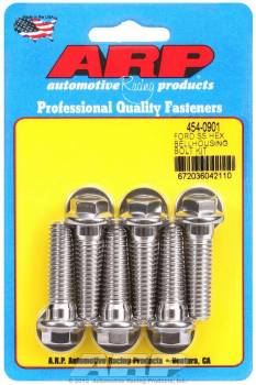 ARP - ARP Stainless Steel Bellhousing Bolt Kit - 6 Point Ford