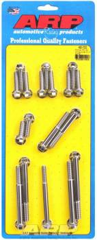 ARP - ARP Pontiac Stainless Steel Timing Cover Bolt Kit - 6 Point