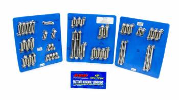 ARP - ARP SB Chevy Stainless Steel Complete Engine Fastener Kit - 6 Point