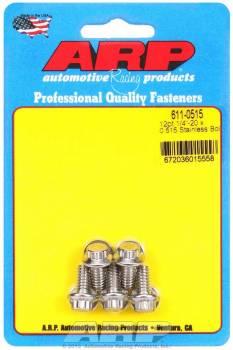 ARP - ARP Stainless Steel Bolt Kit - 12 Point (5) 1/4-20 x .515