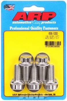 ARP - ARP Stainless Steel Bolt Kit - 12 Point (5) 1/2-13 x 1.000