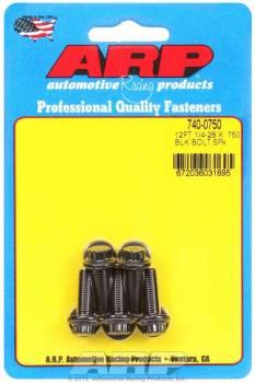 ARP - ARP Bolt Kit - 12 Point (5) 1/4-28 x .750