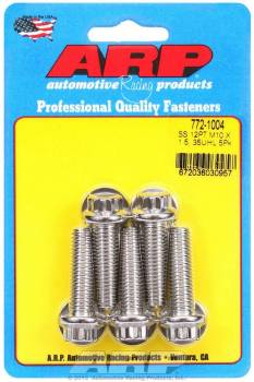 ARP - ARP Stainless Steel Bolt Kit - 12 Point (5) 10mm x 1.5 x 35mm
