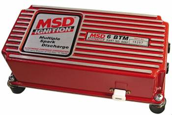 MSD - MSD 6BTM Series Multiple Spark Ignition Controller w/ Boost Timing Master