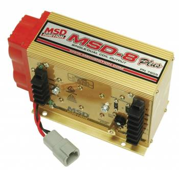 MSD - MSD MSD 8-Plus Ignition Control - 4/6/8 Cylinders