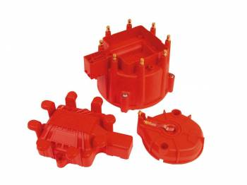 MSD - MSD Distributor Cap and Rotor Kit - Includes HEI Cap/Rotor/Coil Cover