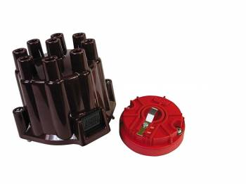 MSD - MSD Distributor Cap and Rotor Kit - GM Points Style Socket Cap