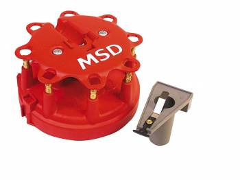 MSD - MSD Distributor Cap and Rotor Kit - Ford Duraspark