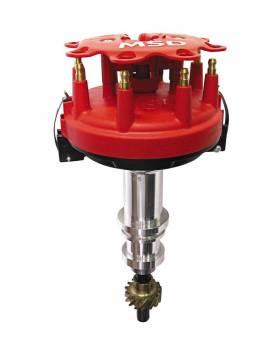MSD - MSD Ford 351C 460 Crank Trigger Distributor - Includes Distributor Cap / Rotor / Bronze Gear