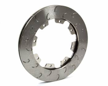 "AP Racing - AP Racing 28 Vane J-Hook Brake Rotor RH  - .810"" - 11.75"" - 8 Bolt"
