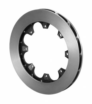 "Wilwood Engineering - Wilwood HD 16 Curved Vane Spec-37 Rotor - LH - .810"" Width - 11.75"" Diameter - 8 x 7"" Bolt Circle"