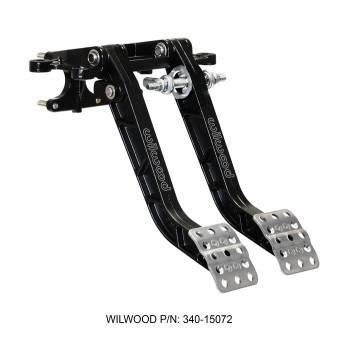 Wilwood Engineering - Wilwood Swing Mount Tru-Bar Brake and Clutch Pedal