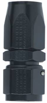 Fragola Performance Systems - Fragola Straight -6 AN Hose End - Black