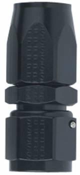 Fragola Performance Systems - Fragola Straight -8 AN Hose End - Black