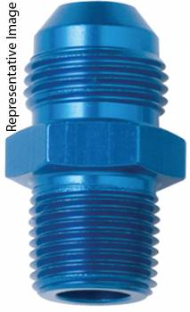 Fragola Performance Systems - Fragola -3 AN x 3/8 MPT Straight Adapter Fitting