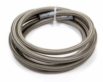 Fragola Performance Systems - Fragola 6000 Series P.T.F.E Lined Stainless Hose - #8 - 15ft w/- Black Cover