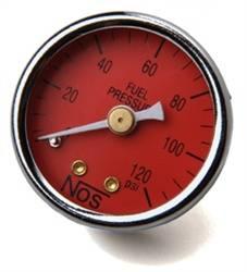 Nitrous Oxide Systems (NOS) - NOS Fuel Pressure Gauge - EFI - 1.5 in. Diameter