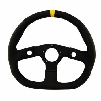 "Grant Steering Wheels - Grant Performance GT D - Shaped Steering Wheel - 13 3/4"" - Black"
