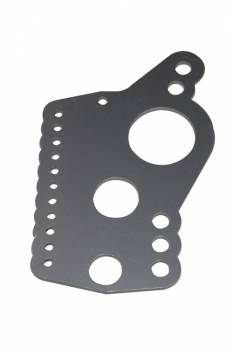 "Chassis Engineering - Chassis Engineering Top Gun Mild steel Four-Link Housing Bracket w/ Shock Mount, 3/4"" mounting holes."