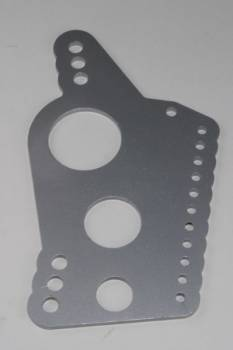 "Chassis Engineering - Chassis Engineering Heavy Duty 1/4"" Mild Steel Four Link Housing bracket w/ 5/8"" holes."