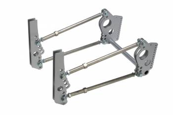 """Chassis Engineering - Chassis Engineering Heavy Duty Pro 4-Link Kit w/Shock Mounts 3/4"""" Holes"""