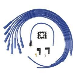 Accel - ACCEL Universal Fit Super Stock 8mm Suppression Spark Plug Wire Set - Blue