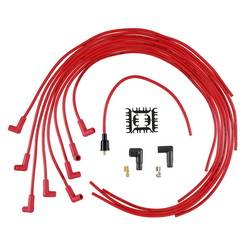 Accel - ACCEL Universal Fit Super Stock 8mm Suppression Spark Plug Wire Set - Red
