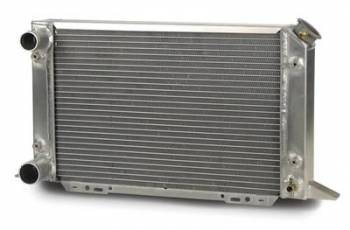 "AFCO Racing Products - AFCO Radiator 13 x 21 Drag LH w/ 1.50"" Inlet/O"