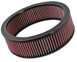 """K&N Filters - K&N Performance Air Filter - 12"""" x 3-7/16"""" - GM 1968-97"""