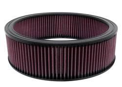 """K&N Filters - K&N Performance Air Filter - 13-3/4"""" x 4-1/32"""" - GM 1978-96"""