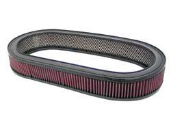 "K&N Filters - K&N Performance Air Filter - Oval - 20-13/16 x 9-1/2"" x 3"" - Universal"