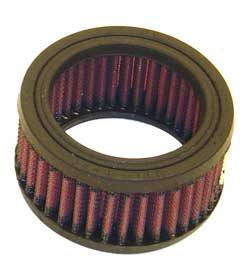 "K&N Filters - K&N Performance Air Filter - 3-7/8"" x 2"" - Universal"