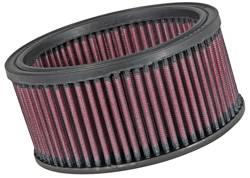 """K&N Filters - K&N Performance Air Filter - 6-1/4"""" x 3"""" - Universal"""