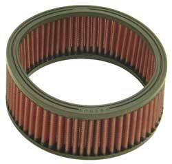 """K&N Filters - K&N Performance Air Filter - 6-1/4"""" x 2-1/2"""" - Universal"""