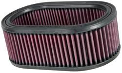 "K&N Filters - K&N Performance Air Filter - Oval - 8-7/8 x 5-1/4"" x 3-1/4"" - Universal"